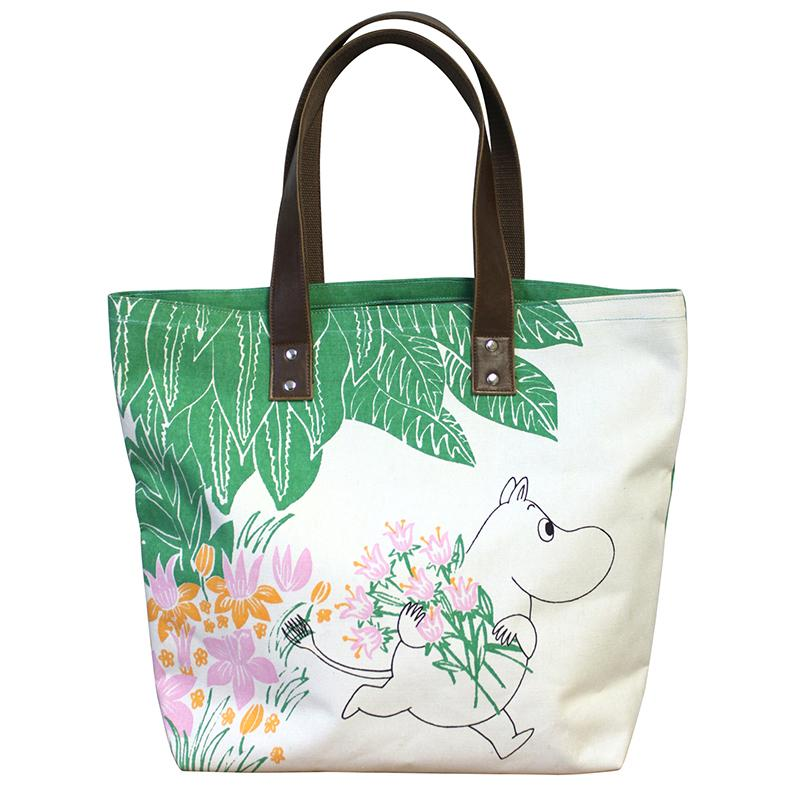 Moomin Green Shopper Bag - BouChic