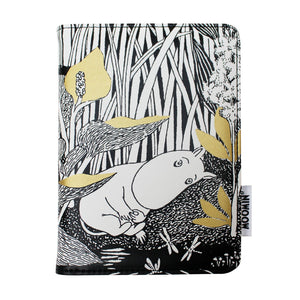 Moomin Passport Holder Midwinter Black & White - BouChic