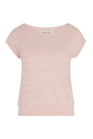 Nicole Button Back Top Blush - BouChic