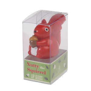 Nutty the Squirrel Lip Gloss - Watermelon - BouChic