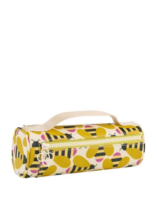 Orla Kiely Busy Bee Pencil Case Cosmetic Bag - BouChic