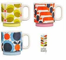 Orla Kiely Ceramic Mug Dachshund Dog Papaya Orange - BouChic