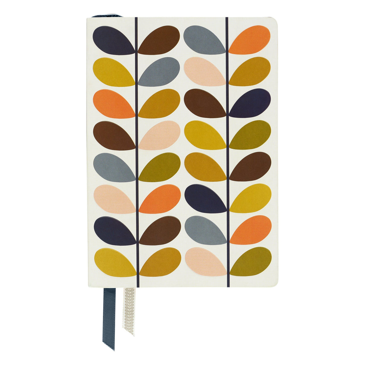 Orla Kiely Classic Stem Print A5 Notebook stationery Bouchic