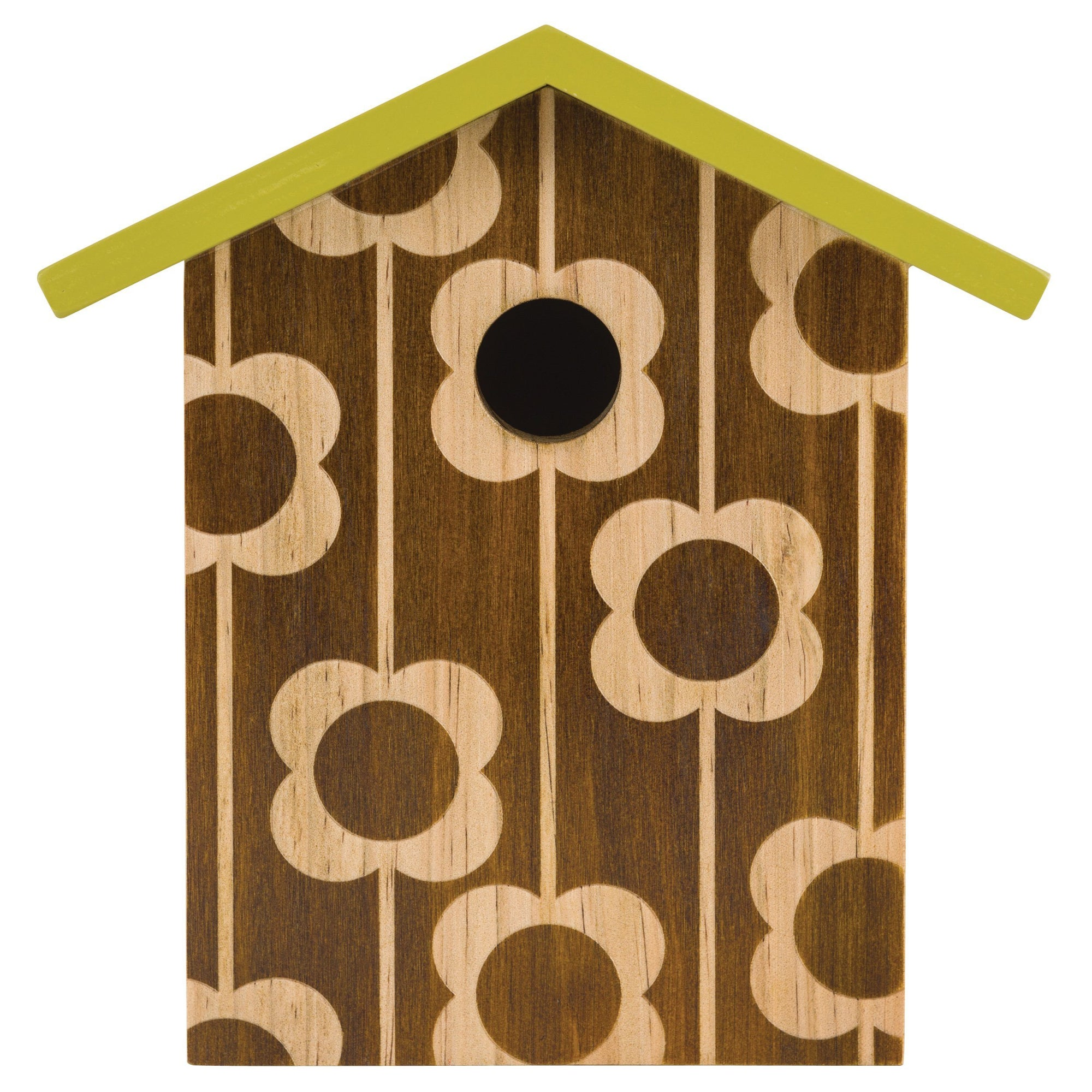 Orla Kiely Engraved Bird House - BouChic
