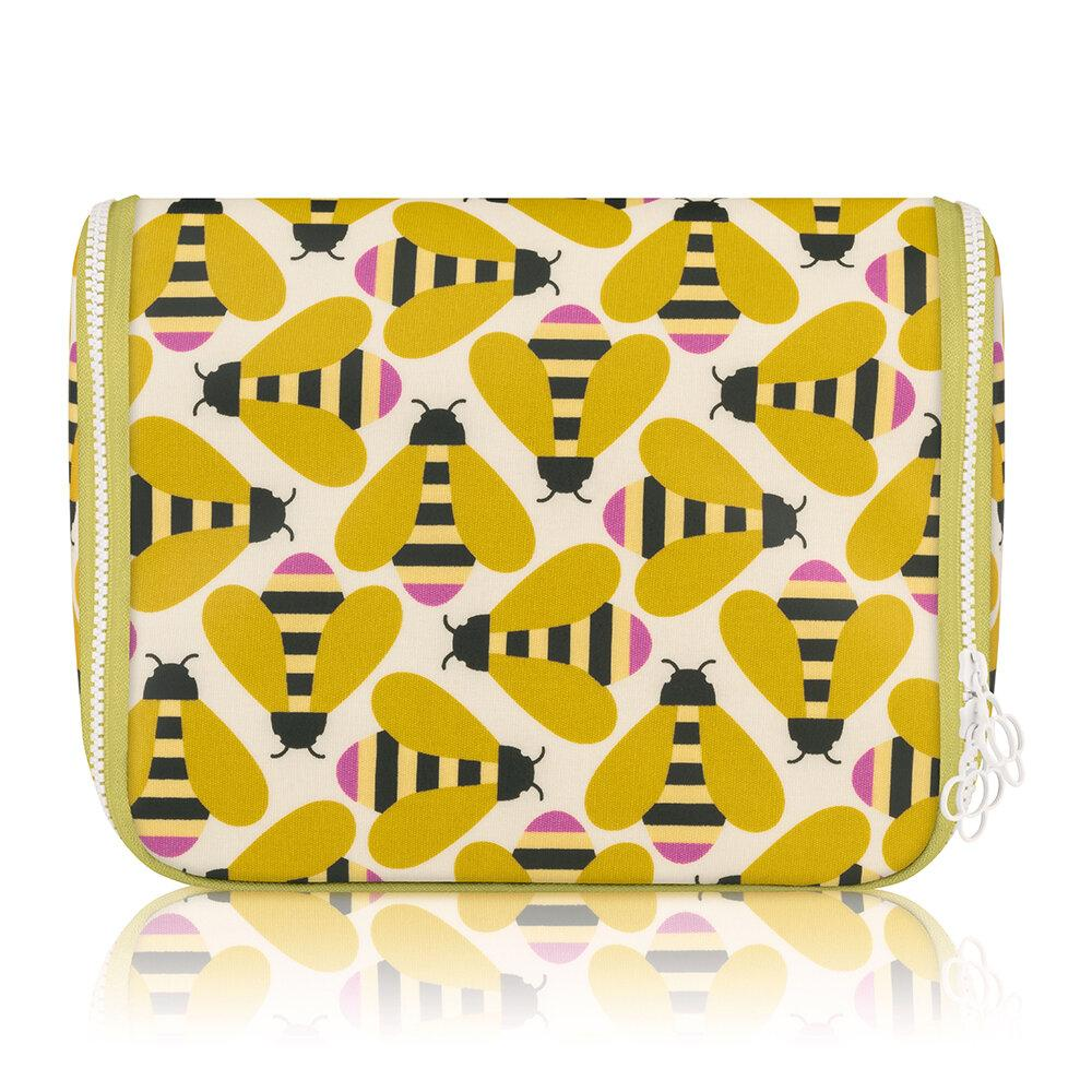 Orla Kiely Hanging Wash Bag Busy Bee - BouChic