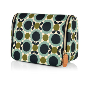 Orla Kiely Hanging Wash Bag Scallop Flower Spot - BouChic