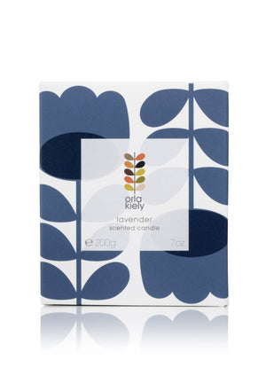 Orla Kiely Lavender scented candle - BouChic