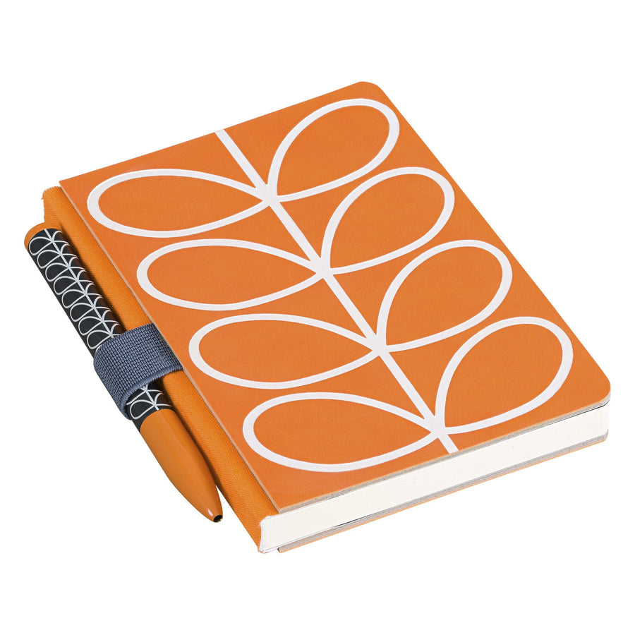 Orla Kiely Linear Notebook & Pen BouChic