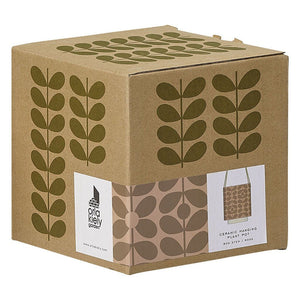 Orla Kiely Medium Ceramic Hanging Pot - BouChic
