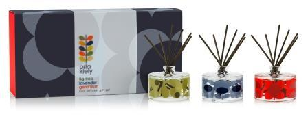 Orla Kiely Mini Diffuser set of 3 - BouChic