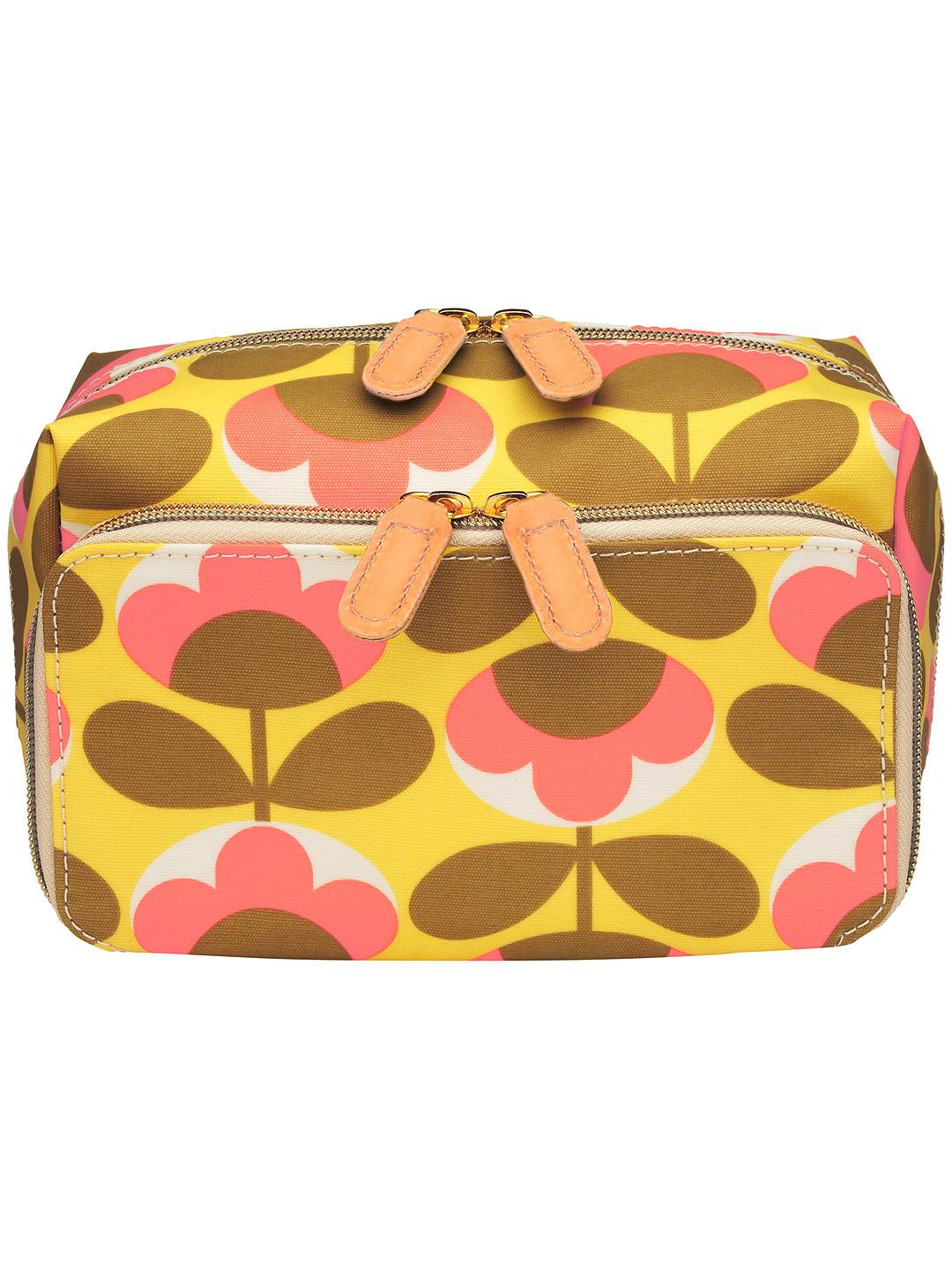Orla Kiely Oval Flower Double Wash Bag - BouChic