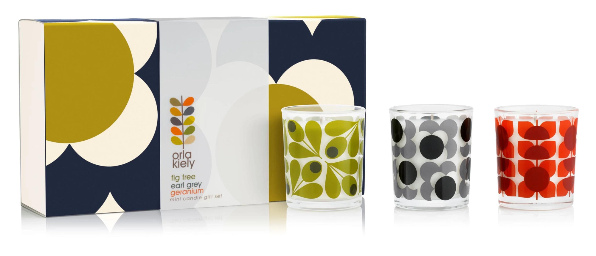 Orla Kiely Scented Candles Set of 3 - BouChic