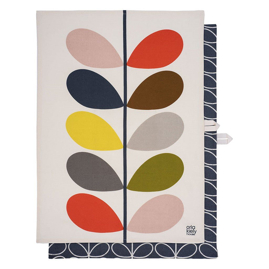 Orla Kiely Set of 2 Multi Stem Slate - BouChic