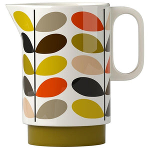 Orla Kiely Ceramic Water Pitcher Multi Stem - BouChic