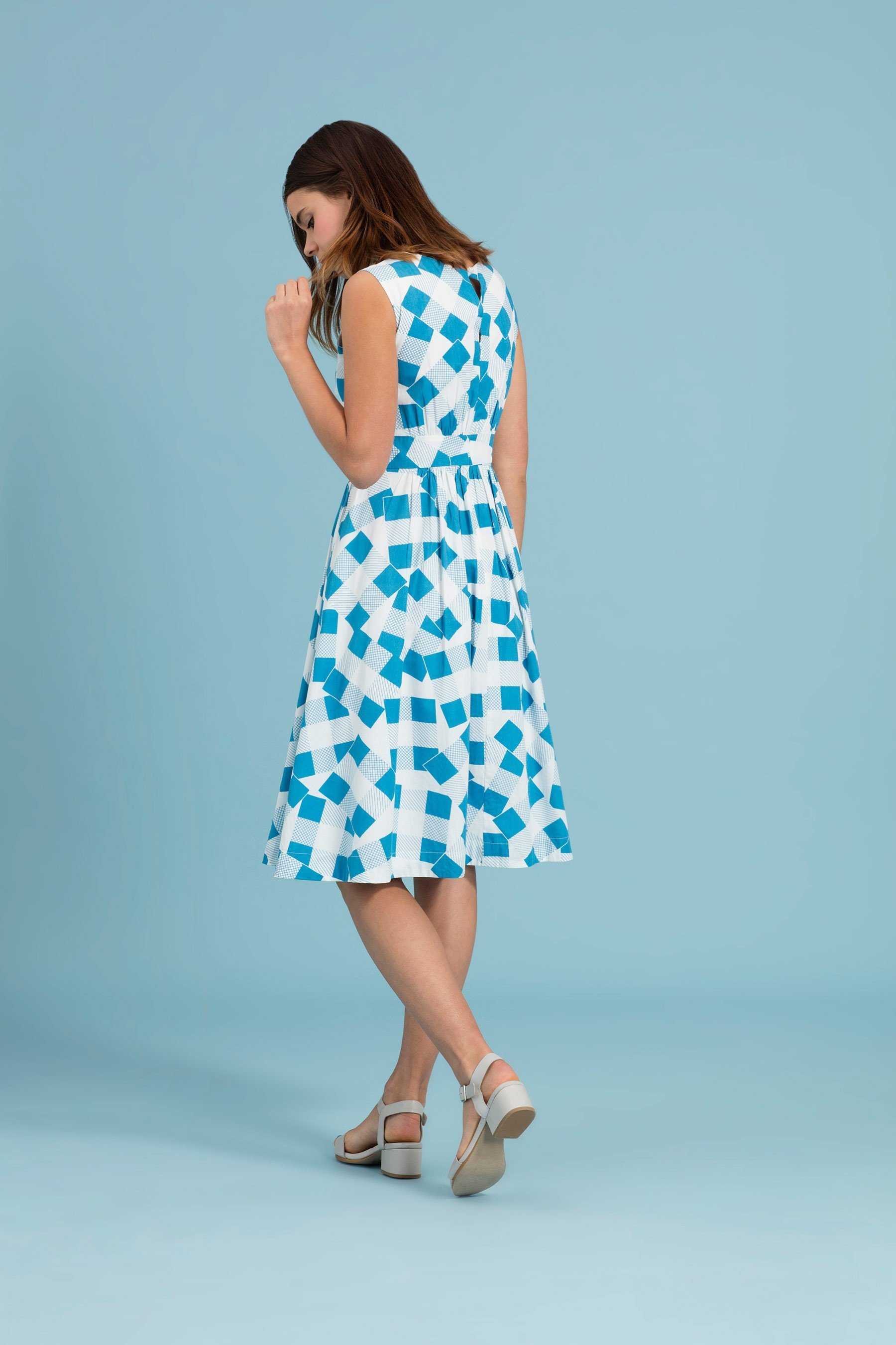 Patchwork Picnic Dress - BouChic