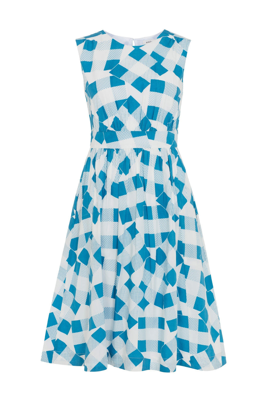 Patchwork Picnic Dress Dress Bouchic