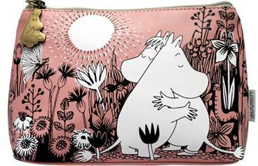 Pink Moomins Love Makeup Bag Moomin Bouchic