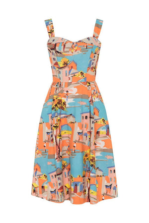 Pippa Dress Old Town Havana Dress BouChic | Homeware, Fashion, Gifts, Accessories 8