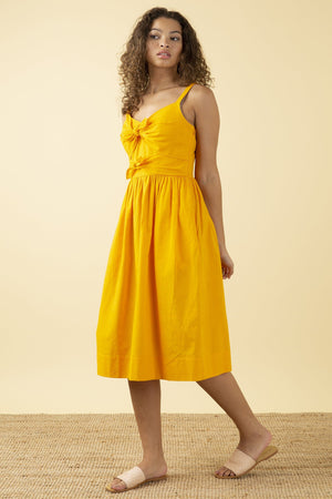 ** PRE-ORDER ** Emily & Fin Salma Dress Sunshine Yellow - BouChic