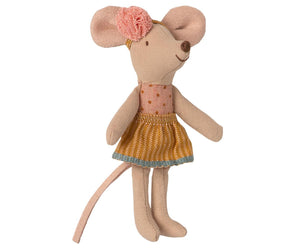 ** PRE-ORDER ** Maileg Little Sister Mouse in a Matchbox - BouChic