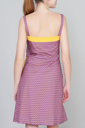 Trakabarraka Purple Dress - BouChic
