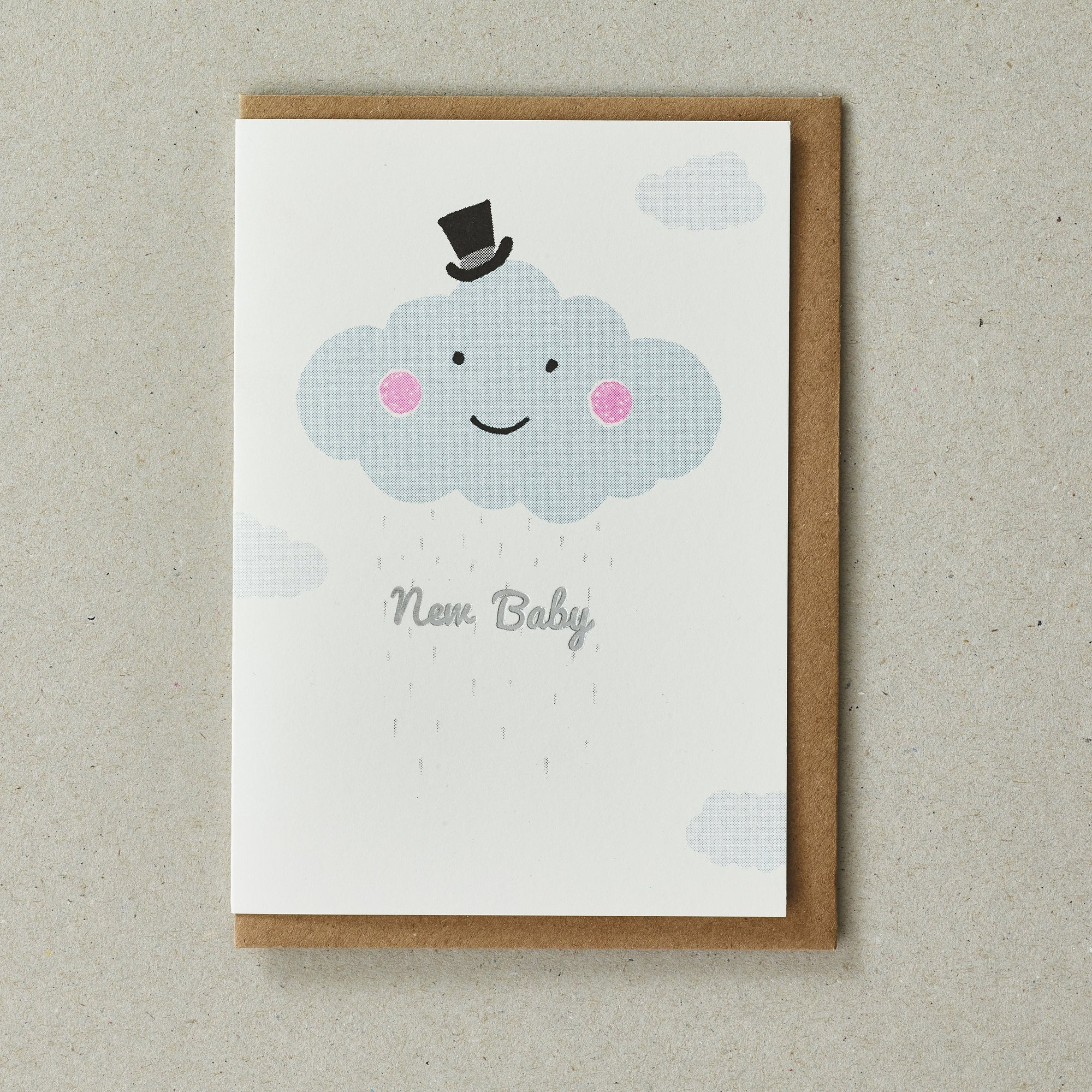 Riso Baby Card - Cloud - BouChic