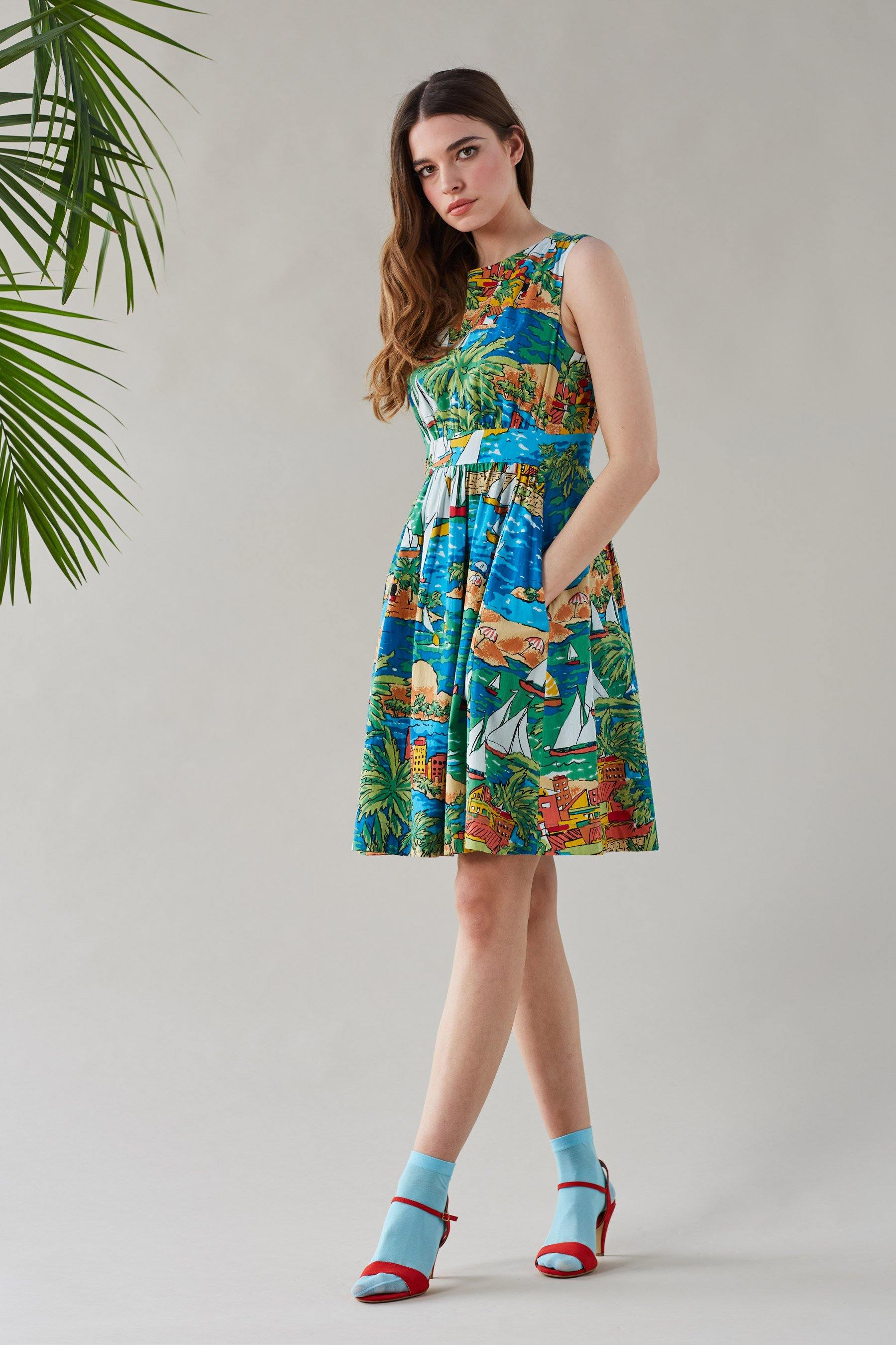 San Jose Bay Lucy Dress - BouChic