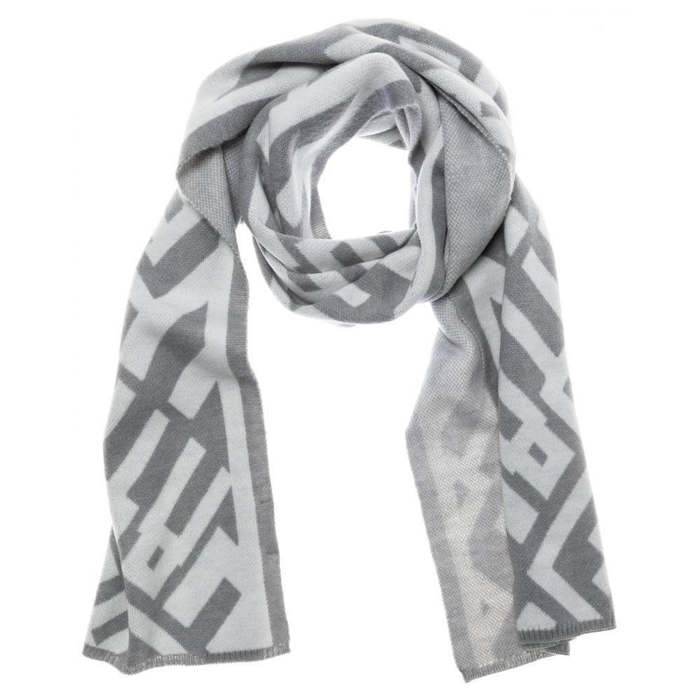 Scarf With Graphic Print - BouChic