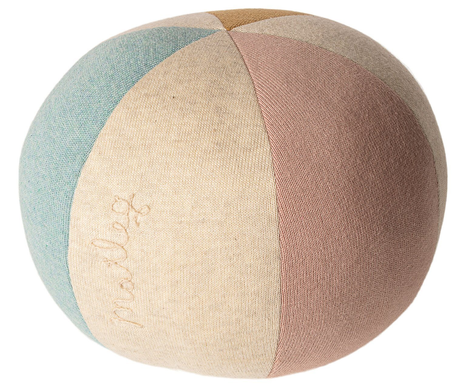 Small Ball Cushion Light Blue Rose - BouChic