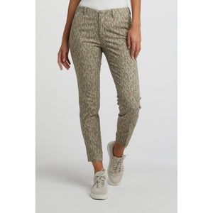 Stretchy Snake Print Trousers - BouChic