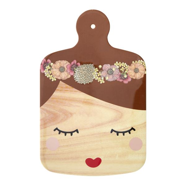 Melamine 'Sweet Face' Cutting Board - BouChic