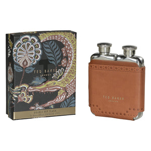 Ted Baker Double Hip Flask - Tan - BouChic