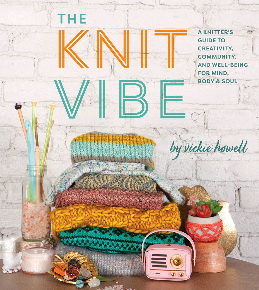 The Knit Vibe Book book Bouchic