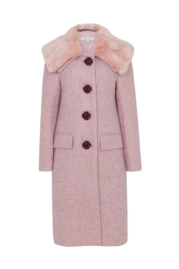Vivian Emily & Fin Boucle Coat Blush Coat BouChic | Homeware, Fashion, Gifts, Accessories