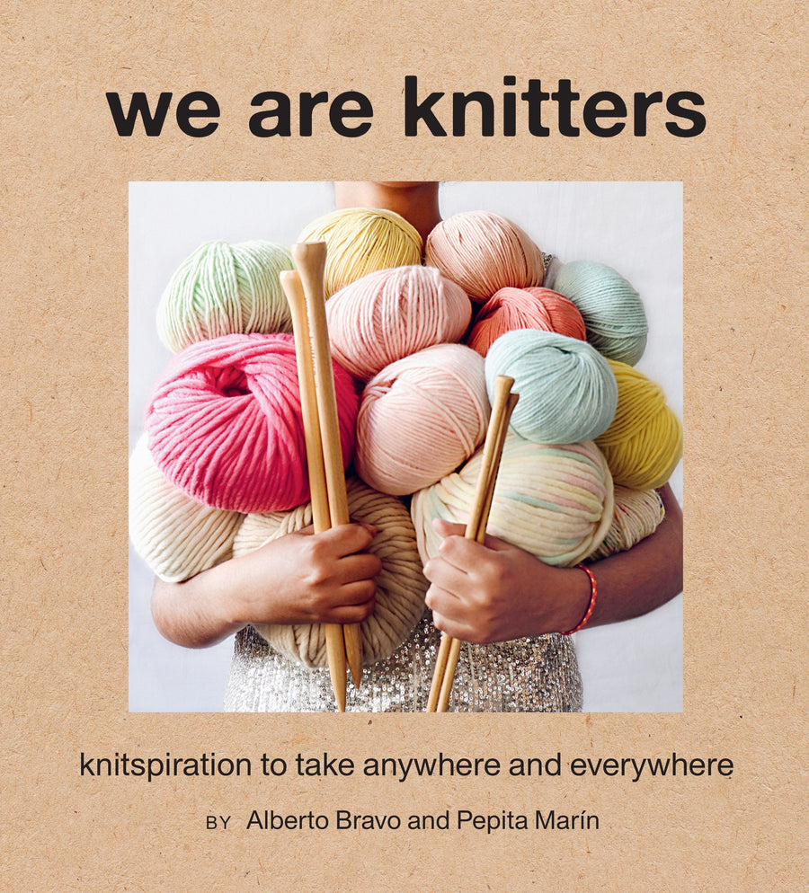 'We are Knitters' Book book Bouchic
