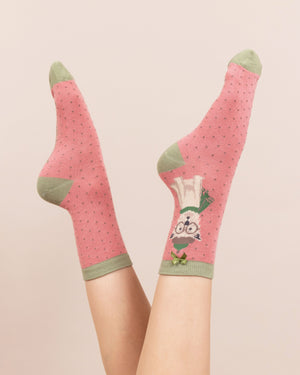 Winter Westie Ankle Socks - BouChic