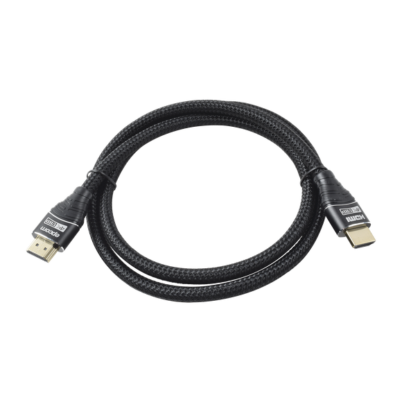 Cable HDMI versión 2.0 redondo de 1m (3.2 ft) optimizado para resolución 4K ULTRA HD
