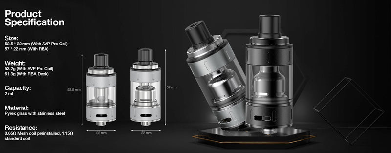 9th Tank By Aspire details - buy online