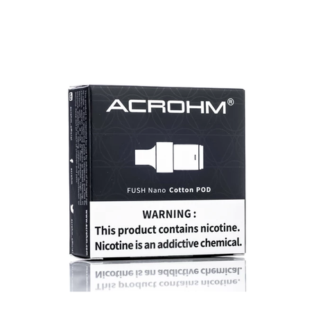 Acrohm Fush Nano Cotton Pods - 2 Pack