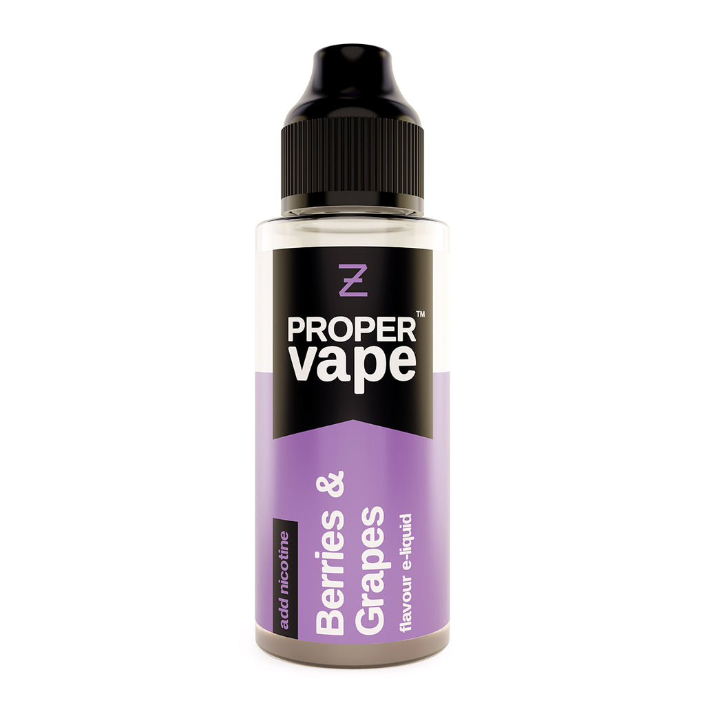 Berries and Grapes 100ml by Proper Vape