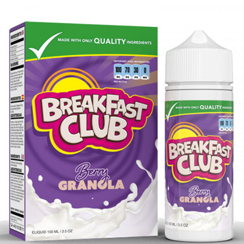 Berry Granola by Breakfast Club 100ml