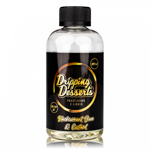 Blackcurrant Jam and Custard By Dripping Desserts 200ml