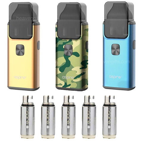 Breeze 2 Kit by Aspire with 5 Coils