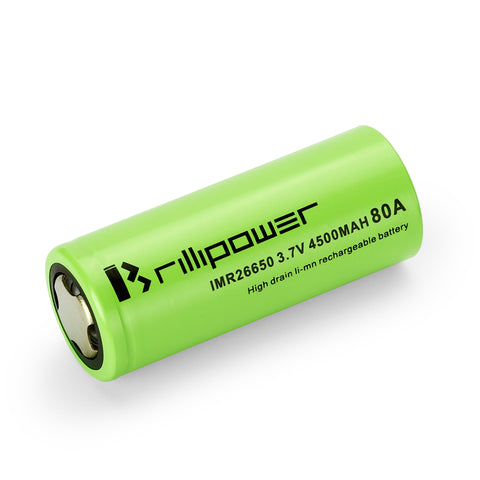 Brillpower 26650 - 4500mAh Battery