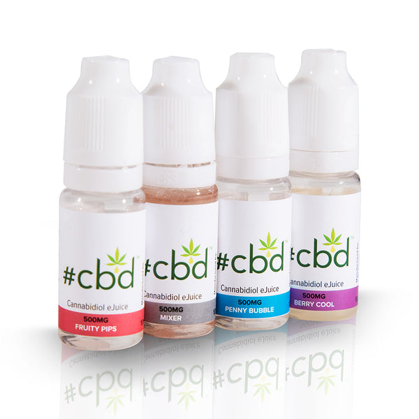 CBD 500mg 10ml by Hashtag CBD