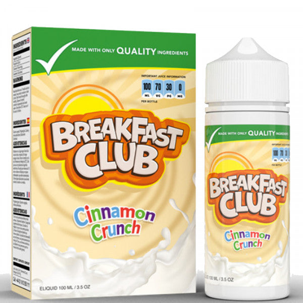 Cinnamon Crunch by Breakfast Club 100ml
