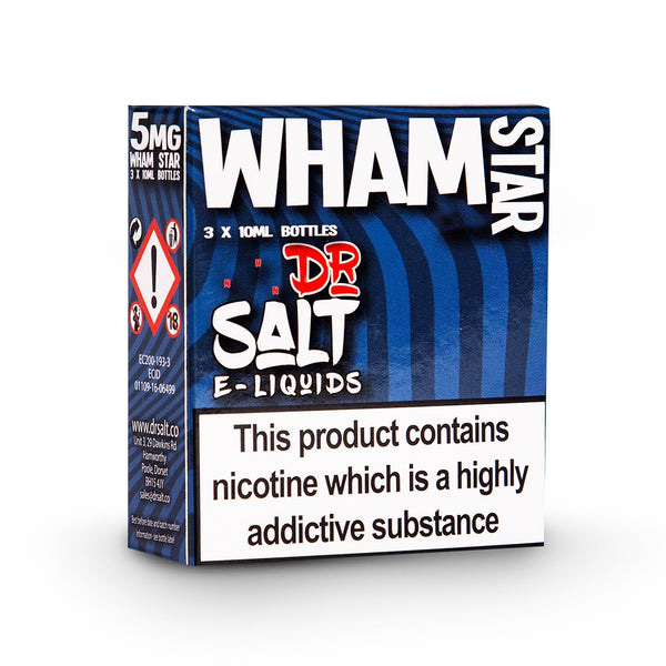 Dr Salt 30ml (3 x 10ml) - Wham Star