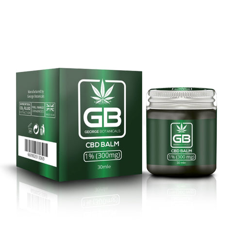 George Botanicals CBD Balm 300mg