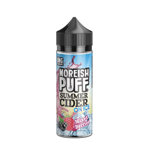 Moreish Puff Summer Cider - Mixed Berries Ice 100ml