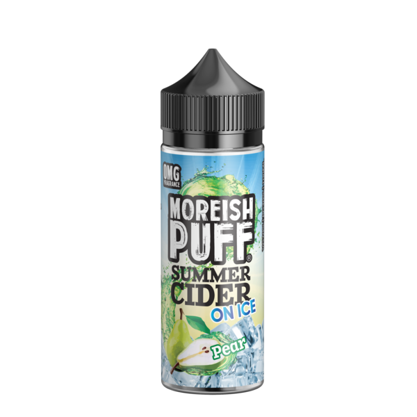 Moreish Puff Summer Cider - Pear Ice 100ml
